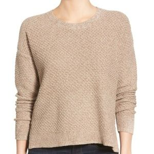 Madewell Landmark Texture Sweater in Marled Umber
